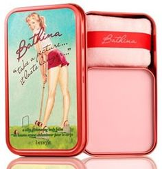 "Benefit Bathina ""Take a Picture... It Lasts Longer"" Body Balm - we've used this for Jessica Chastain's look.   TIP: Apply just above the collar bones for instant contouring"