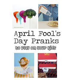 tricks for April Fool's Day