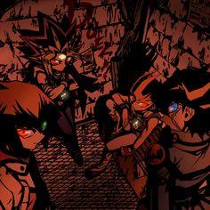 Tags: Anime, Glow, Yu-Gi-Oh!, Yami Yugi, Yu-Gi-Oh 5Ds, Glowing Eyes, Yu-Gi-Oh! GX