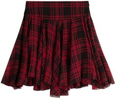 Polo Ralph Lauren Printed Silk Mini Skirt