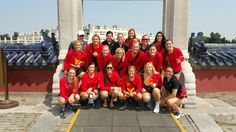 The UCM Volleyball team is competing internationally in China!