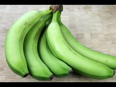 How To Shop For, Cook And Peel Green Bananas. - YouTube