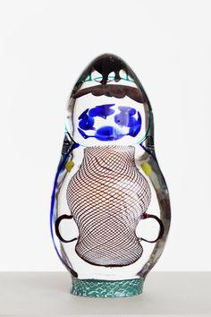 Takinkääntö  Oiva Toikka  2012  49 x 19 cm  Hand blown glass  GF 6090