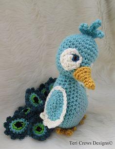 Ravelry: Simply Cute Peacock pattern by Teri Crews