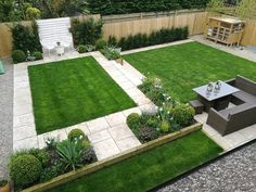 Sloped Backyard, Backyard Landscaping, House Outer Design, Smoke Grill, Low Maintenance Plants, Drought Tolerant Plants, Sitting Area, My Dream Home, Interior Design Living Room
