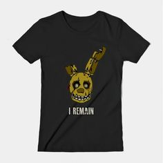 ======= Shirt for Sale ======= Springtrap   Five Nights at Freddy's tshirt by Kaiserin. =========================   #FNAF