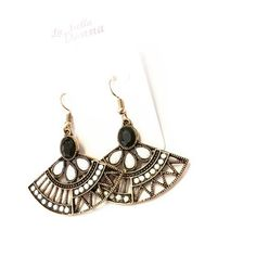 La Bella Donna - Γυναικεια σκουλαρικια βενταλια Drop Earrings, Jewelry, Fashion, Moda, Jewlery, Jewerly, Fashion Styles, Schmuck, Drop Earring