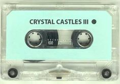 does this crystal castles cassette tape really exist? Factory Records, Crystal Castle, Vampire Weekend, Joy Division, Post Punk, New Wave, Mixtape, Soundtrack, Album Covers
