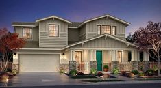 Beautiful new homes in Manteca, CA for sale! Choose from 2 collections and 10 floorplans. Your dream home is waiting for you. Home Design Decor, House Design, My Dream Home, Dream Homes, House Siding, Craftsman House Plans, Sims House, House Goals, Model Homes