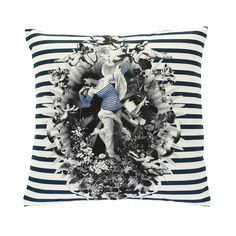 Designed exclusively for Amara, this Cherubs & Rhinestones cushion from Jean Paul Gaultier will add a bold splash of the unique to the home. Only available here and not to be found anywhere else, t...
