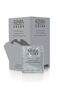 COMING JANUARY 2013! Kenra Expands Color Line: Stain Removing Wipes