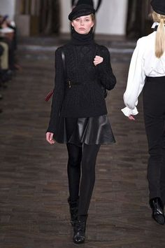 Ralph Lauren, NY Fashion Week, Fall 2013