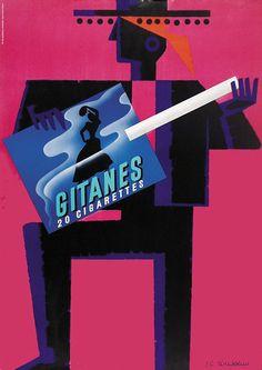 cigarettes Gitanes - 1969 - (Rousseau J.C) -