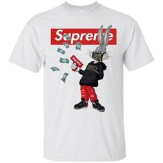 Nyan Cat, Bugs Bunny, Big Fashion, Mens Fashion, Long Sleeve Tee Shirts, T Shirt, Supreme Clothing, Cool Shirt Designs, Supreme Wallpaper