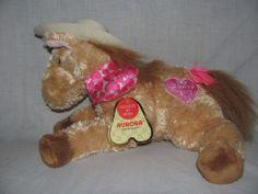 Aurora Plush Horse Crazy 4 You Musical Western Love Valentines Cowboy Hat #Aurora