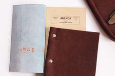 Cartable façon Bleu de Chauffe #2 et carnets LCK