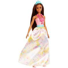 Papusa Barbie Dreamtopia, Printesa roscata, FJC96 New Barbie Dolls, Mattel Barbie, Barbie Stuff, Barbie Fashionista, Chelsea, Corsage, Mattel Shop, Mermaid Barbie, Mermaid Fairy
