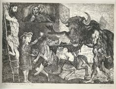 blind minotaur picasso - Google Search