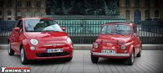 #Fiat500 coming to the US... Small but big compared to the original....
