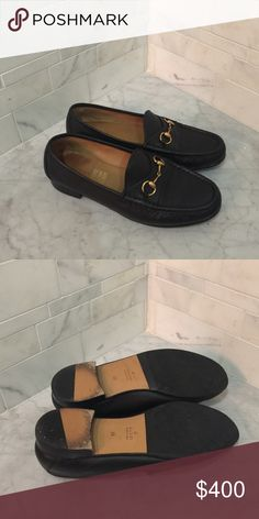 Gucci Horsebit Loafers Barely worn vintage loafers; Italian size 38; comes with original shoebox; no trades Gucci Shoes Flats & Loafers