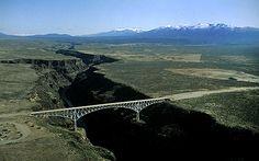 Rio Grande Gorge Bridge - Taos, NM (Scary but still liked it.)