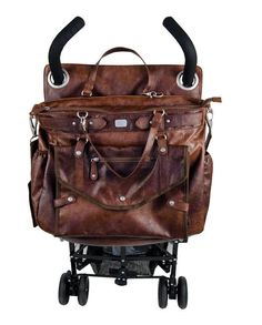 Lady Brown Magic Stroller Bag. Could be cool made out of a fun fabric if one could figure out how to do that!