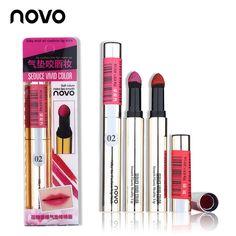 NOVO Lip Makeup Bitten Lips Waterproof Powder Lipstick Sexy Silky Air Cushion Matte Lip Stick Long-lasting Lip Tint Tattoo #clothing,#shoes,#jewelry,#women,#men,#hats,#watches,#belts,#fashion,#style
