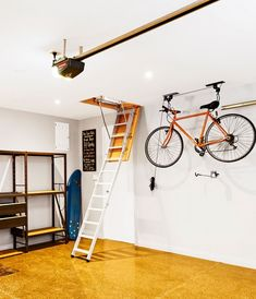 5 Steps to a Clutter Free Garage – Get Containers – Garage Organization DIY Diy Garage Storage, Garage Organization, Storage Ideas, New Flavour, Clutter, Projects To Try, Container, Ceiling Lights, Garage Steps