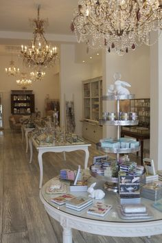 Rachel Moxhom, designer of jewelery brand 'Angelique' has recently opened a beautiful french inspired concept store on High St, Armadale