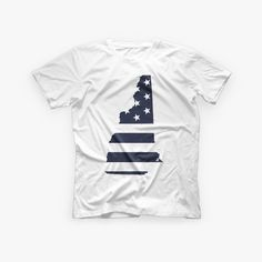 Stars & Stripes & New Hampshire – Victory Brothers New Hampshire, Victorious, Stripes, Stars, Mens Tops, T Shirt, Supreme T Shirt, Tee, Sterne