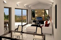 Vamos Crete Houses for sale, five (5) two bedroom bungalows, kept at concrete-skeletal stage in order to achieve savings in transfer costs and in order for the potential owner's preferences to be catered for...
