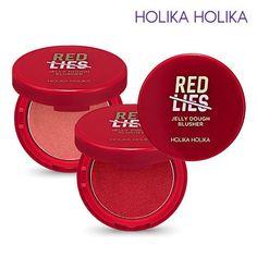 [Holika Holika] Red Lies Collection Jelly Dough Blusher 6g / Korean Cosmetic #HolikaHolika