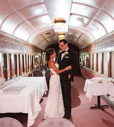 WEDDINGS AT DISALVO'S STATION:  History abounds in the architecture of DiSalvo's Station. Once through the tunnel, you enter the expansive atrium (formerly the train yard) where the cobblestone floor and abundant greenery give you the feeling of dining in a courtyard. Check out our website to view photos, our menus and book a tour! #CavanaughsBrideBook #LoveStartsHere