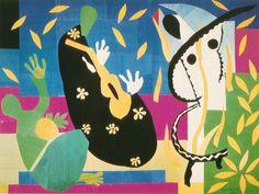 LA TRISTEZZA DEL RE (The sadness of the King) - Henri Matisse 1952