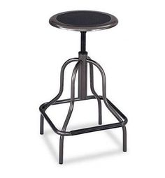 Safco Leather Diesel Industrial Stool at Amazon, $88