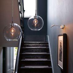 BuyBelid Gloria Glass Brass Pendant Light, Clear/Brass Online at johnlewis.com