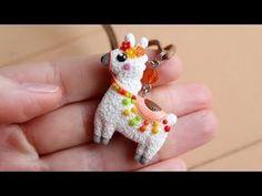 Homemade Polymer Clay, Llama Alpaca, Dinosaur Stuffed Animal, Miniatures, Etsy Shop, Make It Yourself, Holiday, Cute, Jewelery
