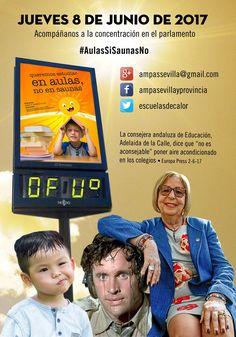 """""""Escuelas de Calor"""" #Actualidad #Educación #Featured #Sociedad #calor"""