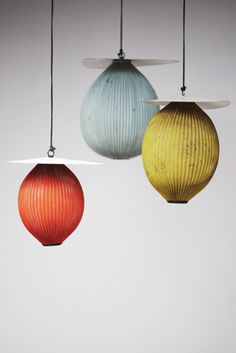 "pendant light ""Rigitulle"": by Mathieu Matégot, 1953"