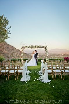 Unique Outdoor Wedding Venue In Scottsdale Arizona