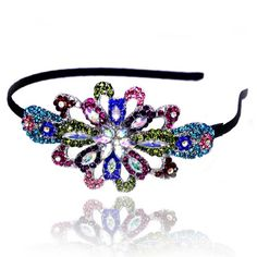 Prom Collection Crystal Prom Queen Tiara Multi - 4EverBling