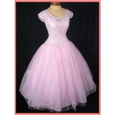 vintage dresses | Vintage Dresses- 50s Prom Dress-Vintage Wedding Dress- 50s Clothing -V ...