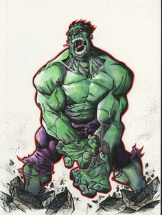 #Hulk #Fan #Art. (Hulk) By: Alberto  Jiménez Alburquerque. (THE * 5 * STÅR * ÅWARD * OF: * AW YEAH, IT'S MAJOR ÅWESOMENESS!!!™)..............