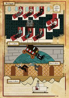 Classic Movies in Miniature Style by Murat Palta, via Behance