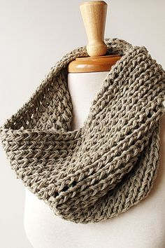 Tickled Pink cowl. Click through for 50 awesome Etsy finds!