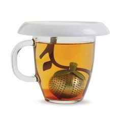 Chef'n Tea Infuser And Saucer,Coffee & Tea Accessories