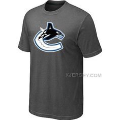 http://www.xjersey.com/vancouver-canucks-big-tall-logo-dgrey-t-shirt.html Only$27.00 VANCOUVER CANUCKS BIG & TALL LOGO D.GREY T SHIRT #Free #Shipping!