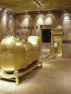 Egyptian sarcophagus ? King Tut