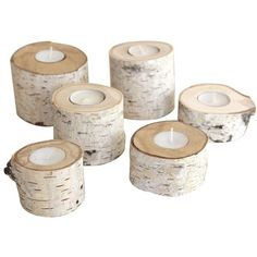 Brika  Candle Holders found on Polyvore featuring home, home decor, candles & candleholders, filler, birch and birch candle holders