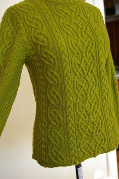 St. Brigid fitted sweater